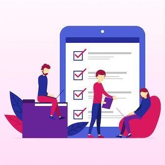 Projectmanagement en zakelijk teamwork