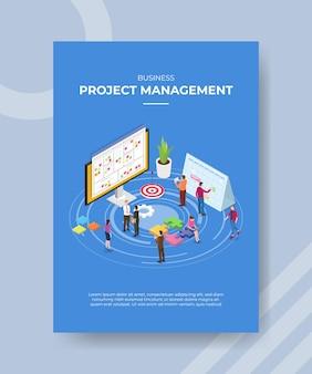 Projectmanagement mensen staan handdruk deal