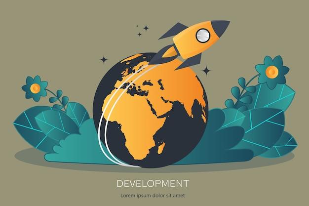 Projectontwikkeling en zakelijke ideeën