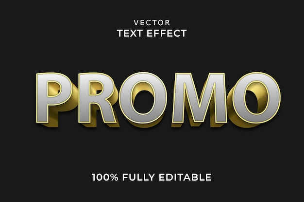 Promo teksteffect