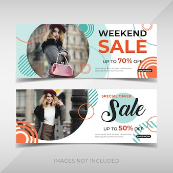 Promotie mode banners