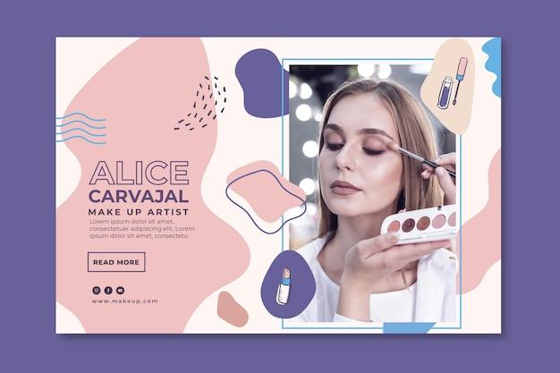 Promotie van cosmetische banners