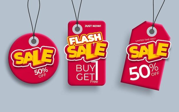 Promotie verkoop labels beste aanbiedingen