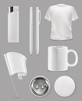 Promotiemateriaal. merchandising set