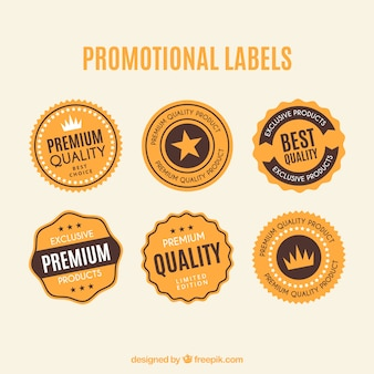 Promotionele dirty labels