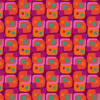 Psychedelisch groovy patroon
