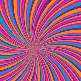 Psychedelische groovy achtergrond