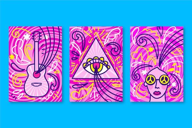 Psychedelische muziek omvat collectie