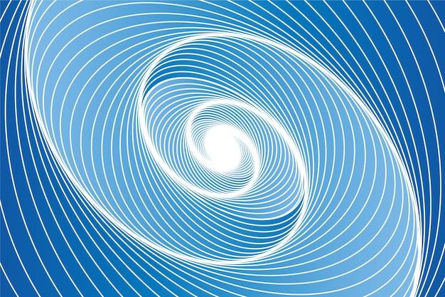 Psychedelische optische illusie behangontwerp