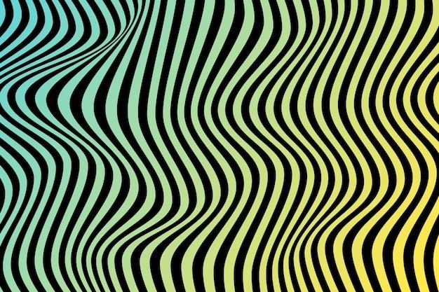 Psychedelische optische illusie wallpaper thema