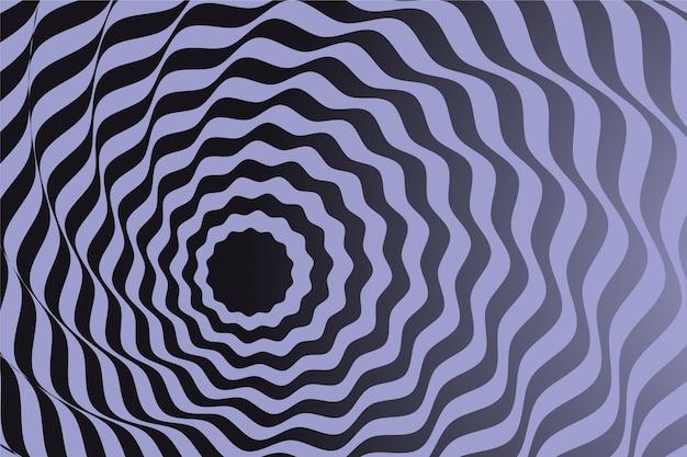 Psychedelische optische illusie wallpaper