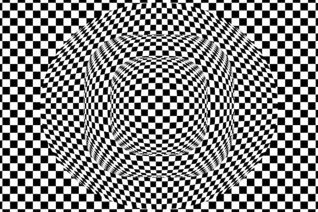 Psychedelische optische ilussieachtergrond