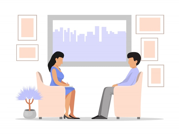 Psycholoog psychotherapie sessie met man depressie. professionele psychotherapeut met sessie. man patiënt praten problemen alcohol, drugsverslavingen, stress