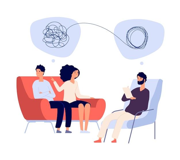 Psychotherapie concept