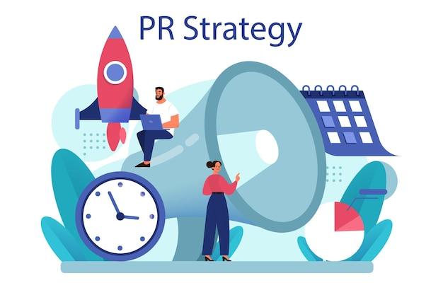 Public relations-strategie