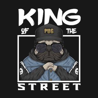 Pug koning van de straat