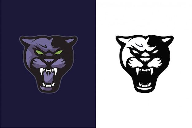 Puma hoofd sport pictogram