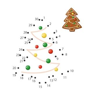 Punt naar punt spel voor kinderen thuisonderwijs. kleurplaat voor kinderen onderwijs. nummer tekenlijn puzzelspel. wiskunde activiteit, taak huiswerk studie. thuisonderwijs vectorillustratie.