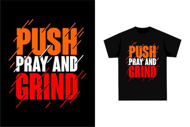 Push bidden en malen