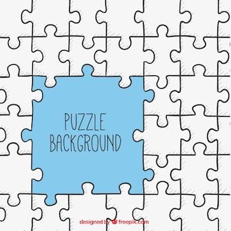 Puzzel achtergrond