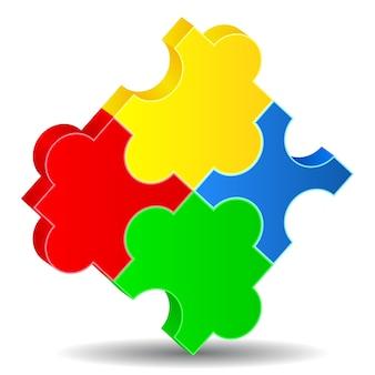 Puzzel vierkant