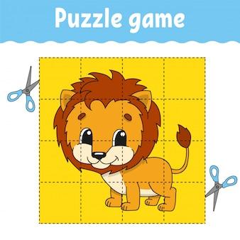 Puzzelspel voor kinderen.