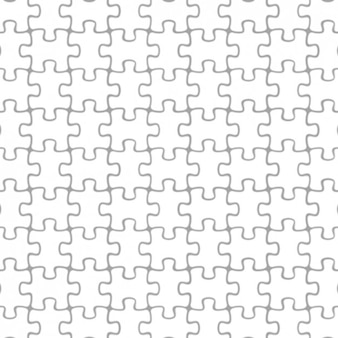 Puzzelstukjes patroon