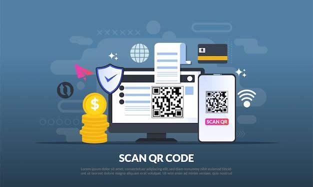 Qr-code voor weblandingspagina
