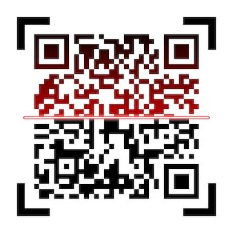 Qr-codes, verpakkingsetiketten, streepjescode op stickers.