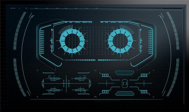 Quantumcomputer, grote gegevensverwerking, databaseconcept.cpu isometrische banner. centrale computerprocessors cpu-concept. digitale chip futuristische microchip processor met lampjes op de blauwe achtergrond.