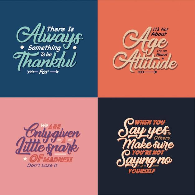 Quotes typografie illustratie