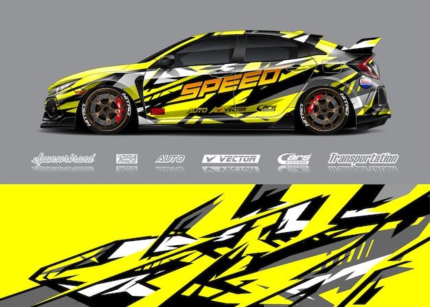 Race auto livrei illustratie