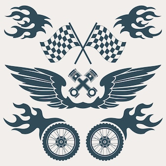 Race ontwerpt collectie