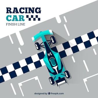 Raceauto ontwerp