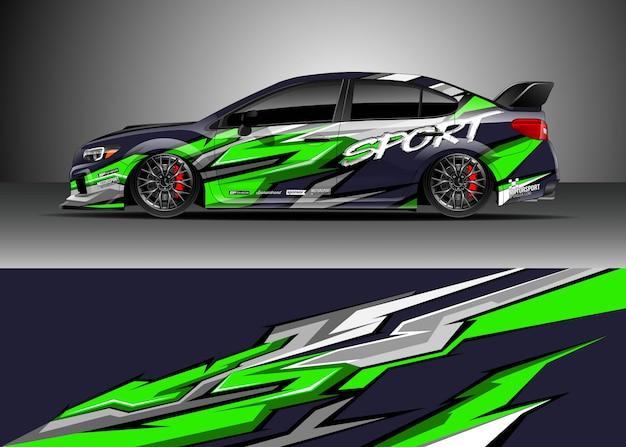 Raceauto voor rally