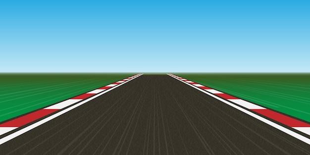 Racebaan, snelweg.