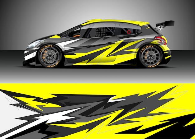 Racewagen voor rally