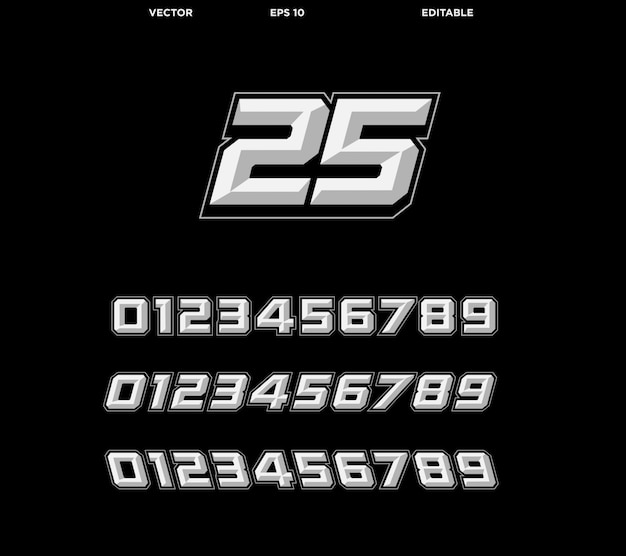 Racing nummer effect