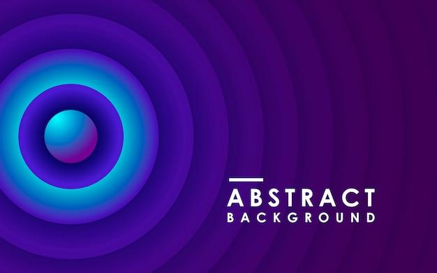 Radiaal verloop abstracte geometrische achtergrond