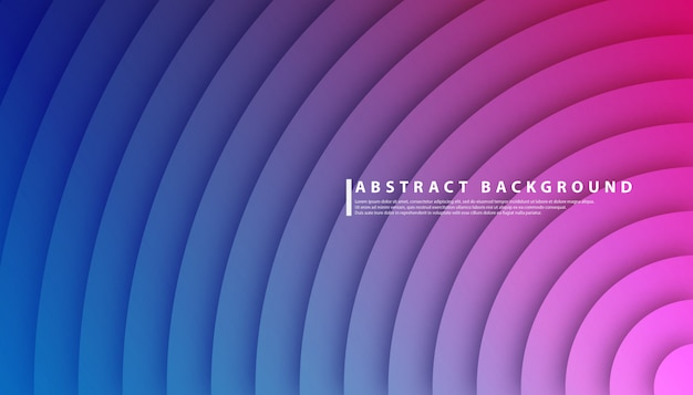 Radiale cirkel gradiënt abstracte achtergrond