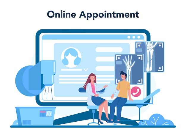 Radioloog online service of platform