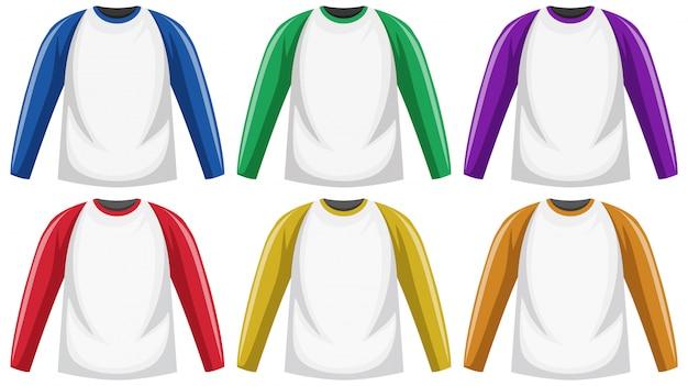 Raglan t-shirt met lange mouwen