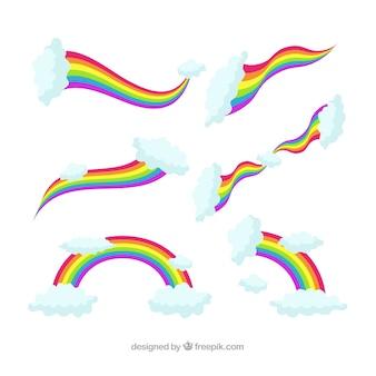 Rainbow achtergrond