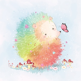 Rainbow hedgehog