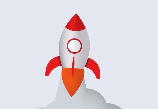 Raket lancering.