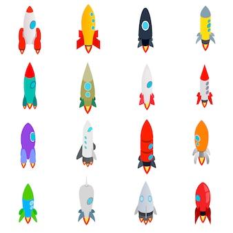 Raket pictogrammen instellen