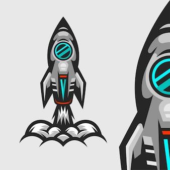 Raketlancering illustratie