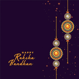 Rakhi-achtergrond voor raksha bandhan festival