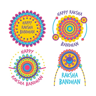 Raksha bandhan badges collectie