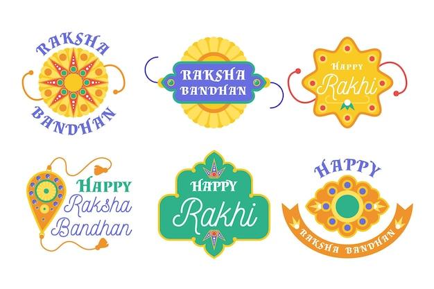 Raksha bandhan badges pack